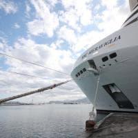 Palermo, in porto la MSC Meraviglia, la più grande nave costruita in Europa
