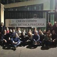 Palermo, presidio di protesta al Cnr dei lavoratori precari