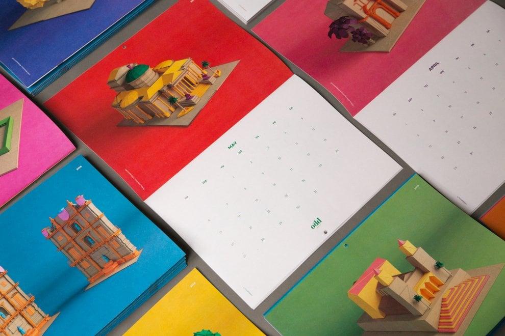Palermo, l'itinerario Unesco diventa pop per un calendario