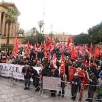 Palermo, 5mila in piazza contro la riforma delle pensioni: