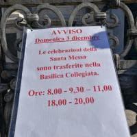 Catania, in Cattedrale portone chiuso per i senzatetto