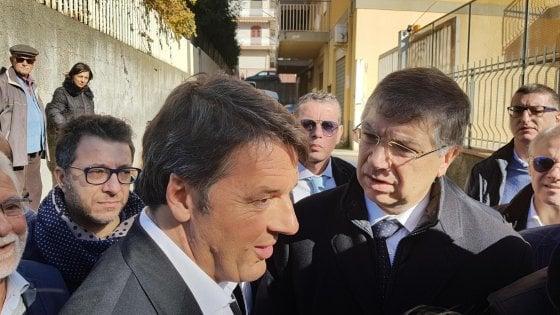 """Renzi in Sicilia, prima visita dopo la sconfitta: """"Insistere sulla lotta alla mafia"""""""