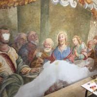 Catania, scoperti alcuni affreschi settecenteschi in una chiesa di Acireale