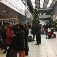 Il maltempo blocca i voli: notte all'aeroporto di Verona per 300 siciliani