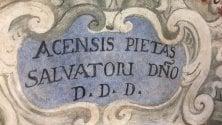 Catania, gli affreschi settecenteschi scoperti ad Acireale