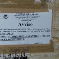Palermo, stadio delle Palme senz'acqua: niente bagni e docce per gli atleti
