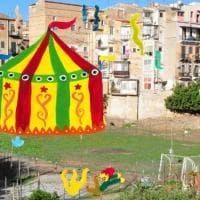 Palermo, il circo fai-da-te per i bambini del quartiere popolare