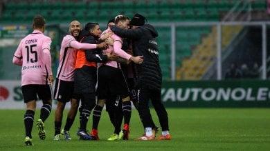 Ci pensa Rispoli: il Palermo ritrova la vittoria in casa
