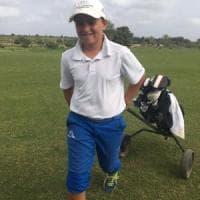 Golf, il miglior atleta under 12 è palermitano