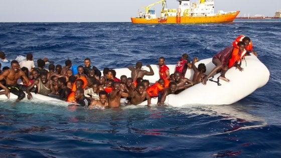 Naufragio al largo della Libia