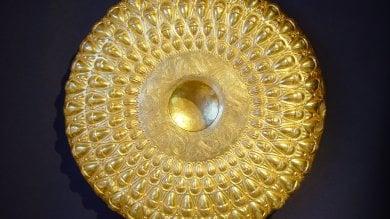 Solo 5 visitatori al giorno  per la Phiale aurea