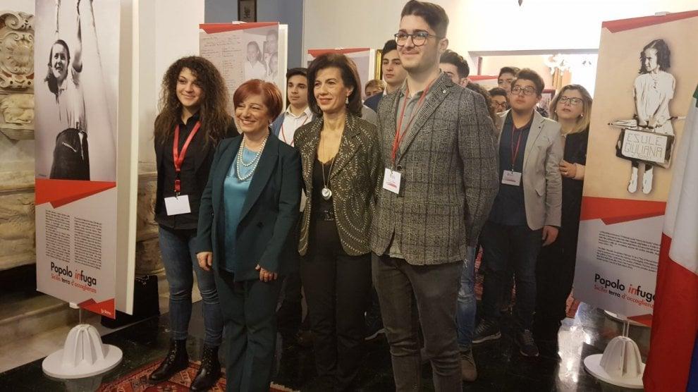 A Villa Pajno gli studenti ricordano le vittime delle foibe e l'esodo dei profughi istriani