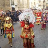 Carnevale di Sciacca, la grande sfilata dei carri