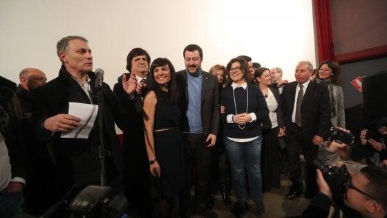 """Salvini a Palermo apre il tour al Sud: """"Musumeci? C'è ancora troppo passato"""""""