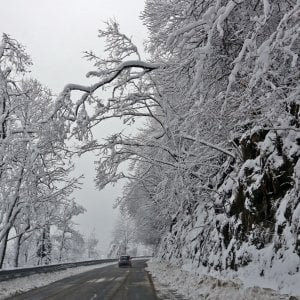 Emergenza neve nel messinese