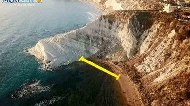 Scala dei turchi  una passerella  per aggirare il crollo
