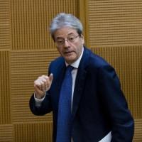 """Gentiloni: """"Pd unico pilastro possibile del prossimo governo"""""""