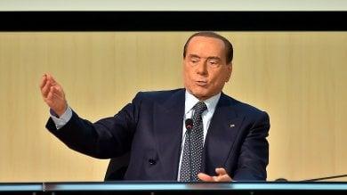 """Berlusconi: """"Ponte sullo Stretto e casinò  serve un piano Marshall per la Sicilia"""""""