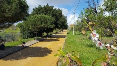 Agrigento, nella Valle dei Templi  arriva l'asfalto colore del tufo  foto