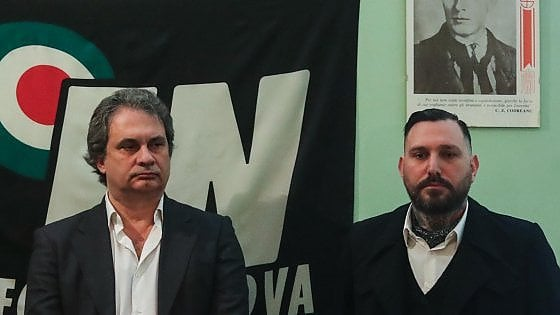Militante di Forza nuova pestato e legato |  testa spaccata al segretario provinciale