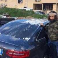 Palermo, aggressione a una troupe di Striscia la notizia: colpo di fucile contro l'auto...