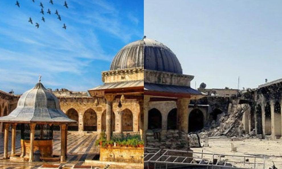 Aleppo prima e dopo le bombe: da Palermo il progetto di recupero