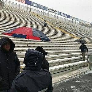 Calcio, Parma-Palermo rinviata per la neve