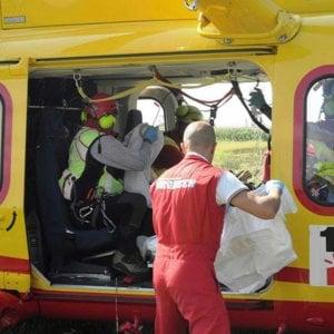 Lipari, l'elicottero del 118 non atterra per il maltempo e il paziente muore