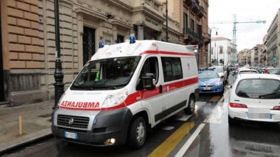 Palermo: turista investito da una moto, è in rianimazione