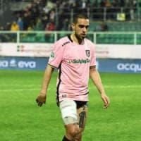 Palermo, Bellusci si ferma per un mese: i rosa rischiano l'emergenza in