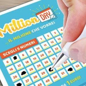Catania, vinto un milione di euro con la lotteria MillionDay