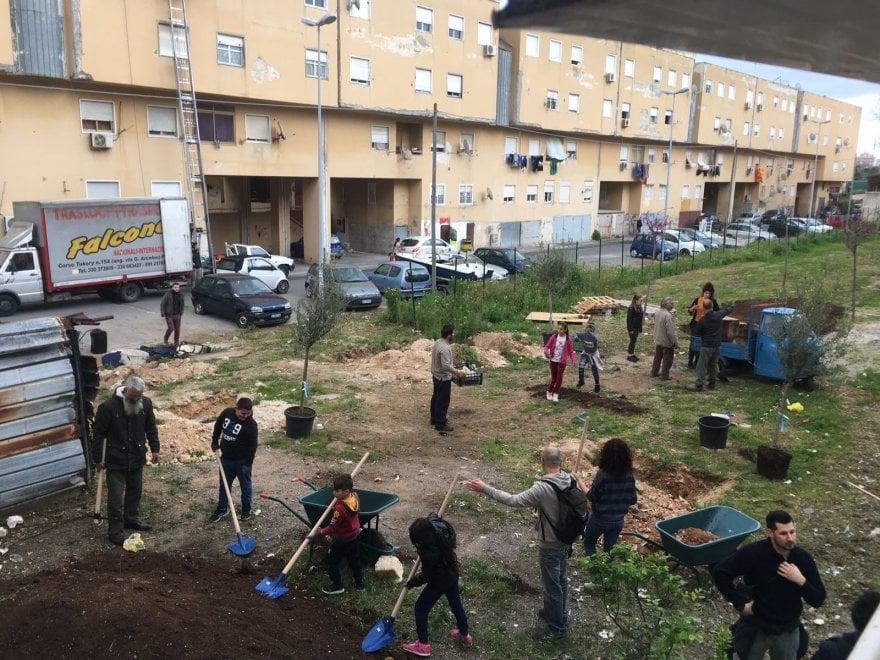 Palermo, ecco Manifesta: allo Zen lavori in corso