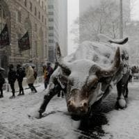 Tempesta di neve a New York, bloccati 200 studenti siciliani