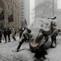 Tempesta di neve a New York, bloccati 200 studenti siciliani