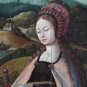 Palermo, riecco Santa Caterina: dopo 32 anni svelata l'opera d'arte fiamminga