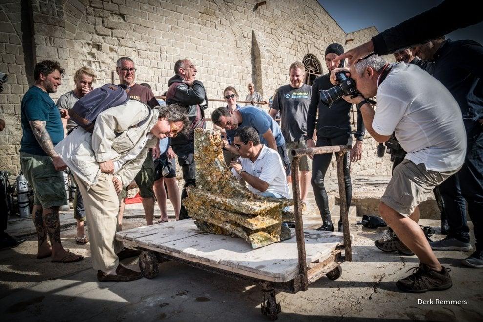 Sciacca, i reperti della battaglia delle Egadi in mostra