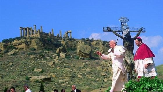 """Quando Wojtyla disse """"Mafiosi, convertitevi"""": vescovi riuniti per organizzare il venticinquennale"""