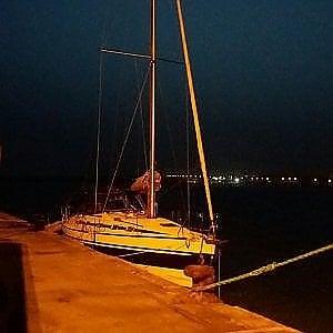 Siracusa, i migranti arrivano in barca a vela