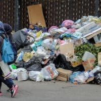 Rifiuti a go-go: le strade di Palermo invase dall'immondizia