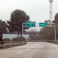 Lavori in corso: chiusa la Palermo-Catania fra gli svincoli di Enna e Caltanissetta
