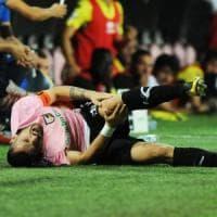 Palermo, per Nestorovski infortunato stagione già finita