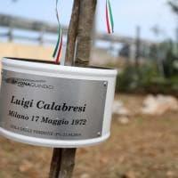Capaci, un albero per ricordare Luigi Calabresi