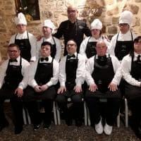 Cerda, i ragazzi con la sindrome di Down chef e camerieri per un giorno