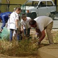 Gela, i cittadini ripuliscono i Bagni greci