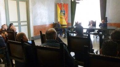 Termini, sit-in dei lavoratori dell'indotto: