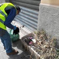Palermo, 54 volontari raccolgono i rifiuti correndo
