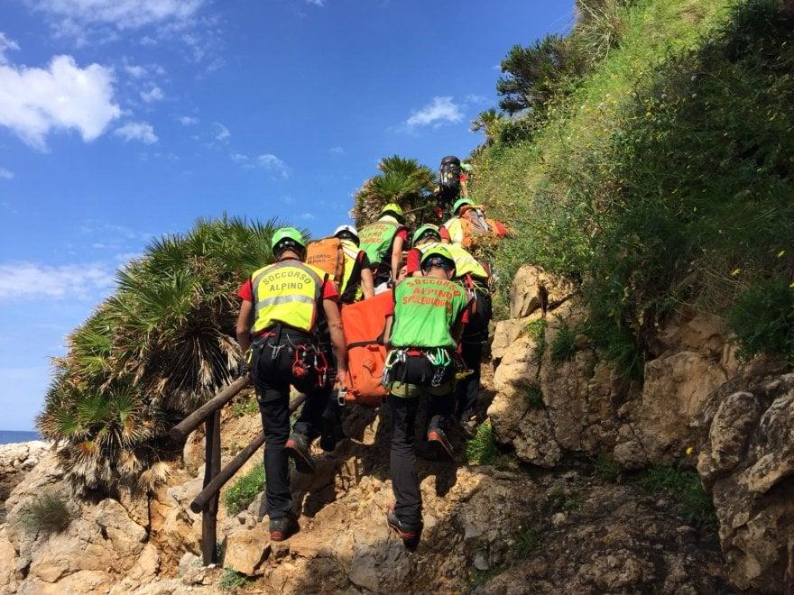 Trapani, escursionista ferito: intervengono il Soccorso alpino e l'elicottero del 118