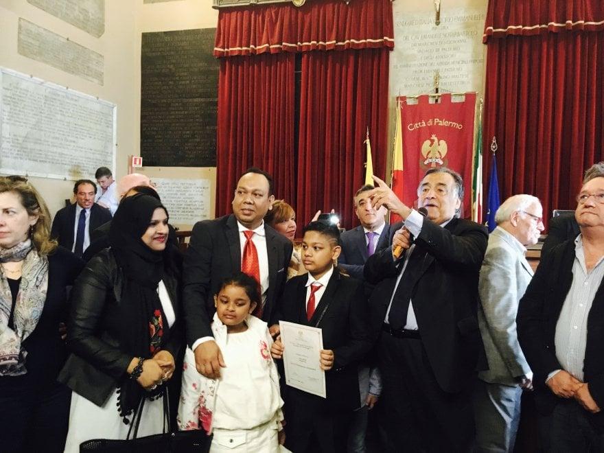 Palermo, i volti degli 82 bambini stranieri diventati cittadini palermitani