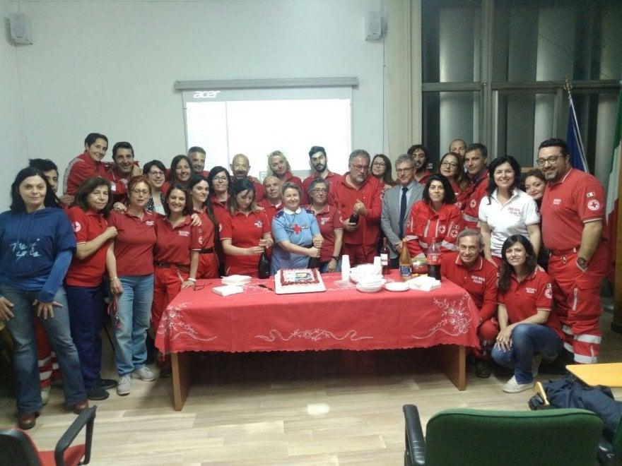 Palermo, i volontari della Croce Rossa festeggiano il fondatore Henry Dunant