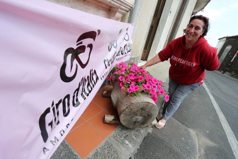 Giro d'italia sull'Etna, l'entusiasmo dei tifosi
